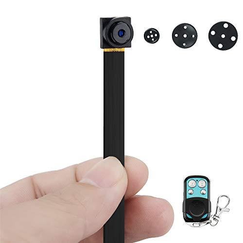 1080P HD Mini Spia Registratore Telecamera Nascosta con Funzioni di Rilevazione di Movimento e Scattare Foto, 6 Ore di Registrazione Video a Lungo Termine, Scheda di Memoria da 16GB Integrata