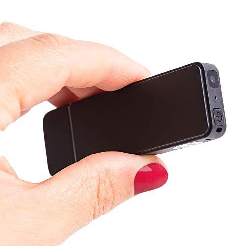 16GB Registratore Vocale e Mini Telecamera HD con Rilevamento del Movimento - Batteria da 4,5 ore per Modalità Video - DoubleREC di Atto Digital