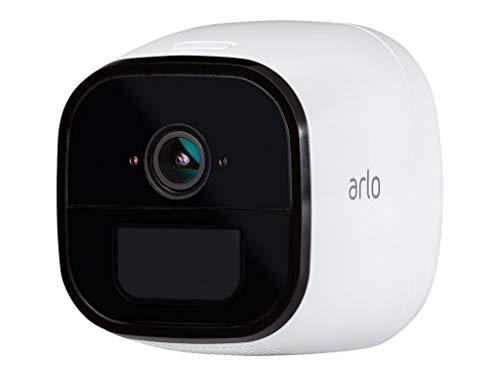 Arlo Go VML4030-100PES Telecamera di Sicurezza Wireless 4G, 3G LTE 100% senza Fili, Compatibile con Sim di Qualsiasi Operatore, Indoor e Outdoor, Funziona con Alexa e Google Wi-Fi