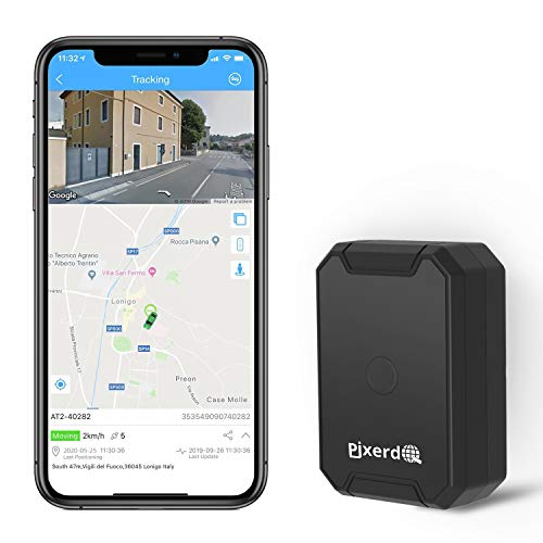 AT1 GPS Tracker 6000MAH Strong Magnetica, MINI Portable Personal e Vehicle Localizzatore GPS in Tempo Reale Tracking e Allarme Antifurto Per Auto Moto Truck Bambini Assets APP Gratuita per Android IOS