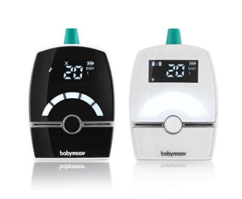 Babymoov A014204_UK Premium Care Babyphone Audio, Expert Care, 1400 m