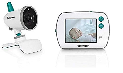 Babymoov A014420 YOO Feel Babyphone Video, Bianco