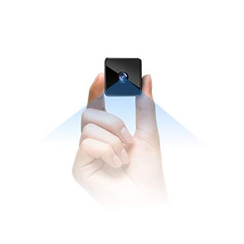Bluetooth Mini Telecamera Nascosta Spia Wifi,MHDYT Senza Fili HD 1080P Micro Spy Cam con Cassa Bluetooth,Sensore di Movimento,Infrarossi y Batteria, Esterno/Interno Piccola IP Telecamera Sorveglianza