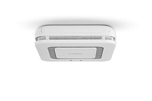 Bosch Smart Home Rilevatore di fumo Twinguard con misurazione della qualità dell'aria (componente di sistema, collegato tramite l'app Smart Home, versione Francia)