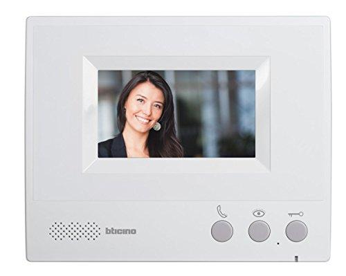 """BTicino 330651 Videocitofono Vivavoce, Display da 4.3"""", Grigio"""