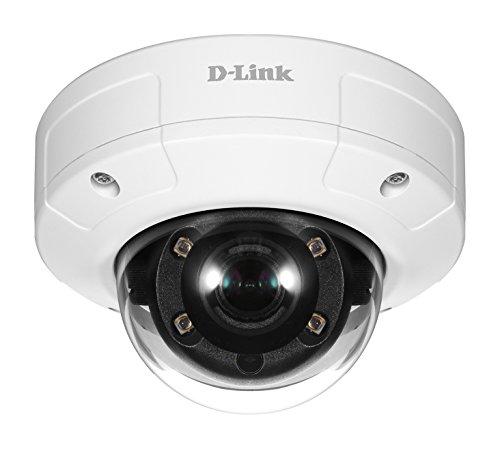D-Link DCS-4633EV Telecamera Dome, PoE, 3 Megapixel, Antivandalica per Esterni IK10, Gamma Vigilance