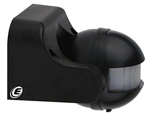 Electraline 58411 Sensore di Presenza di Movimento, Nero