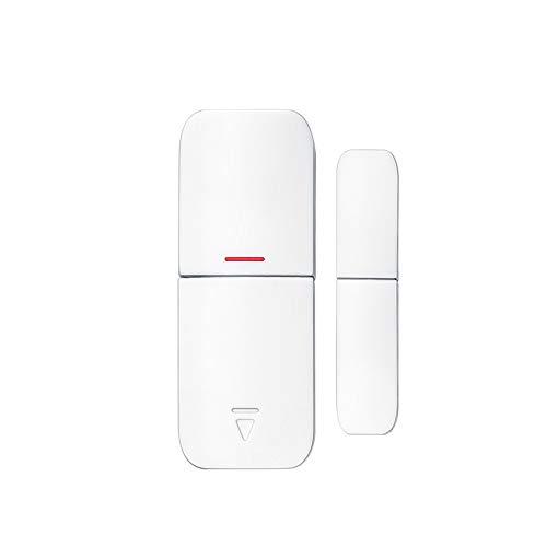 ERAY Sensore per Porta/Sensore per Finestra per Allarme Antifurto per sistema di allarme T1, Wireless senza Fili, 433 MHz, Batterie incluse