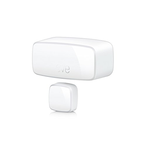Eve Door & Window – Sensori di contatto intelligenti per porte e finestre, notifiche (chiuso, aperto), nessun bridge, Bluetooth, Thread, Apple HomeKit
