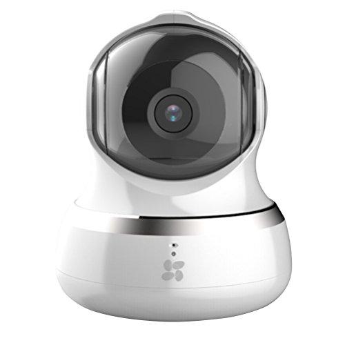 EZVIZ C6B 960p Telecamera di Sorveglianza Interno Wireless, Sensore di Movimento Pan/Tilt, Audio Bidirezionale, Monitoraggio di Movimento e Suoni, Visione Notturna 10 metri, Servizio Cloud