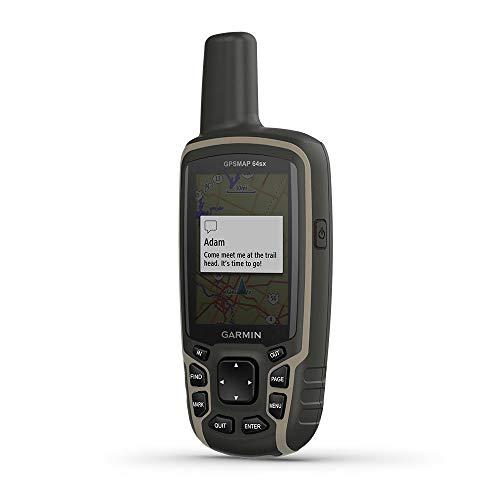 Garmin GPSMAP 64sx localizzatore GPS Personale Nero, Verde 8 GB