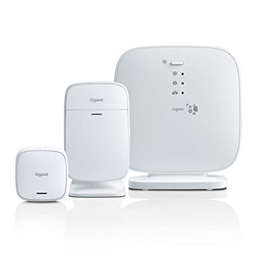Gigaset Homecoming Pack (kit di sicurezza per proteggere la porta d'ingresso, sistema di allarme semplice con sensore di movimento e app di controllo)