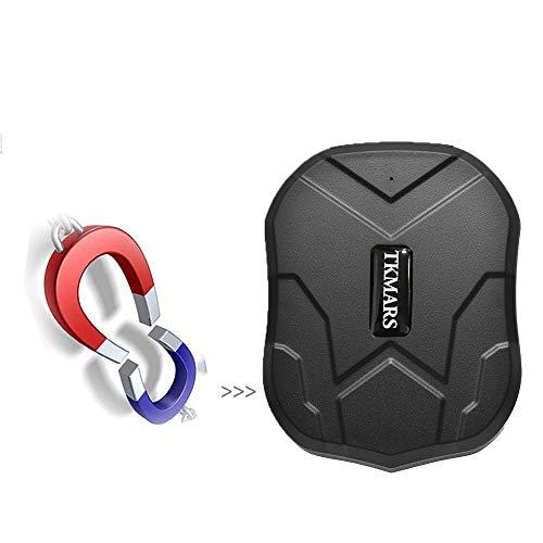 Hangang Forte Magnetismo GPS Tracker,3 Mesi di Standby GPS,Sistema di Monitoraggio in Tempo Reale del Localizzatore del Veicolo,Impermeabile GPS Anti-smarrimento con APP Gratuita per Smartphone