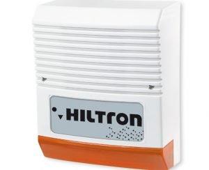Hiltron SA310 Sirena Elettronica per Esterno Autoalimentata con Lampeggiatore