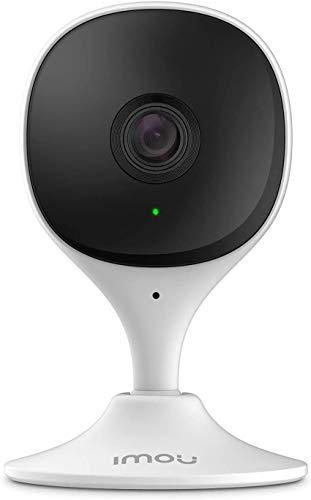 Imou Telecamera Wi-Fi Interno, Telecamera di Sicurezza con Rilevazione del Movimento Umano & Visione Notturna, 1080P Baby Monitor, Allarme di Suoni Anormali, Compatibile con Alexa/Google