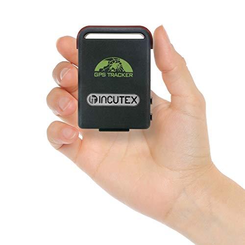 Incutex GPS localizzatore GPS Tracker TK104 inseguitore Spia per Persone e Veicoli – antifurto