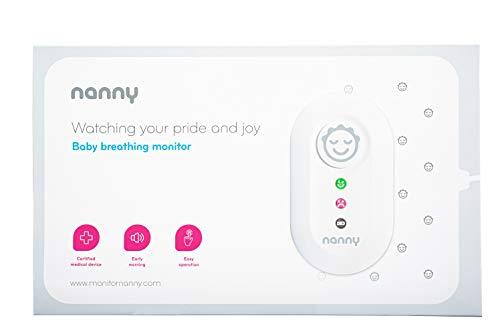 JABLOTRON™ Nanny Monitor BM-02 Babyphone/Sensore movimento allarme - Babymonitor di attività respiratoria infantile con rilievo di rilevamento - Monitora la respirazione di tuo figlio - fatto in UE (1 tappetino)