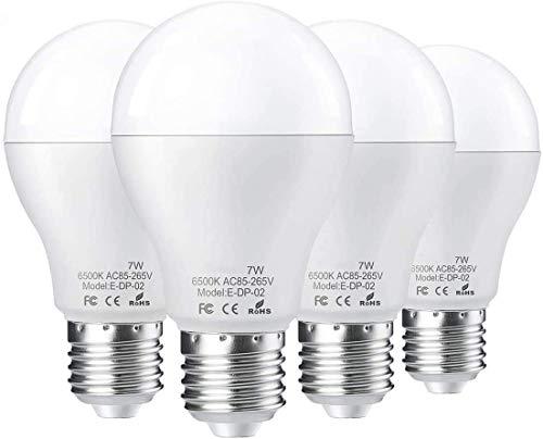 lampadina del LED E27 con radar movimento intelligente sensore radar sensore di luce della luce LED lampadina, luce bianca 6500 K 7W sostituisce 50W lampada sensore utilizzato per antifurto