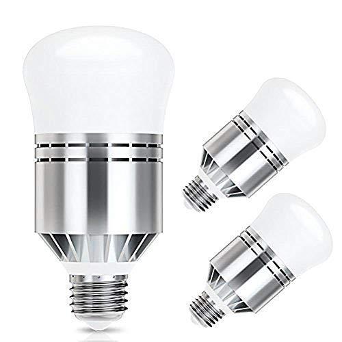Lampadina LED Sensore, Haofy E26/E27 Lampadine con crepuscolare 12W (12)