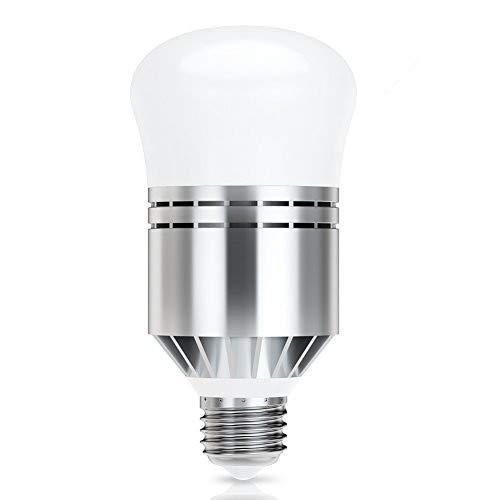 Lampadina LED Sensore, Haofy E26/E27 Lampadine con crepuscolare 12W alba lampadina luce notturna Crepuscolare Luce Notturna Automatico [Classe di efficienza energetica A+]