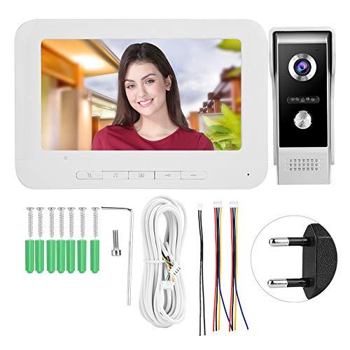 Monitor Videocitofono con schermo LCD per porta, sistema a colori per Home Security System (regolamentazione europea)