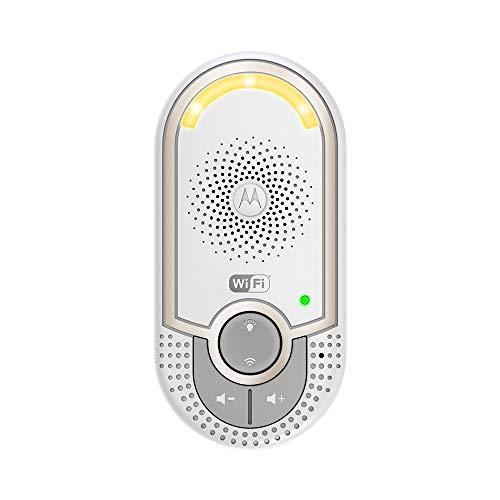 Motorola MBP 162 Connect - Wi-Fi Baby Audio Monitor con Gamma Illimitata