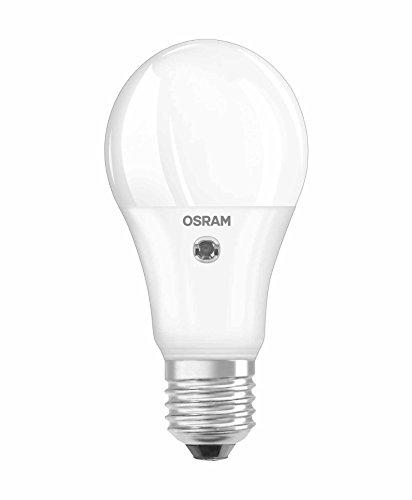 Osram DS CL A LED Star Sensor Classic A E27 Bli, Smerigliata, 60 W