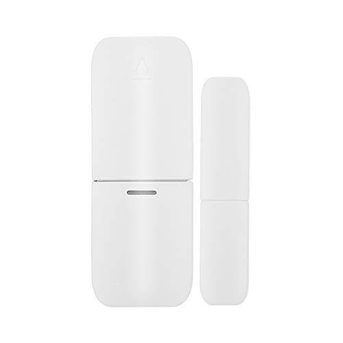OWSOO 433Mhz Sensore Wireless Sensore Porta Magnetica Allarme Finestra Porta Casa Allarme Antifurto Compatibile con RF 433MHz Gateway Host Sistema di Allarme di Sicurezza Domestica Intelligente