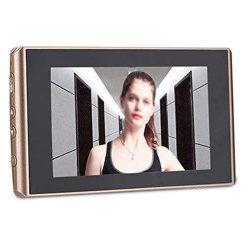 Peephole Camera 2 MP Schermo LCD da 4,3 pollici Porta digitale Spioncino Spioncino Visione notturna + Registrazione video + Scatto foto automatico, 160 ° Viewer per porte grandangolari Campanello di s