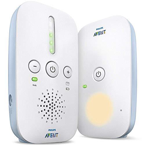 Philips AVENT Audio Monitors SCD503/26 monitor video per bambino 300 m Bianco