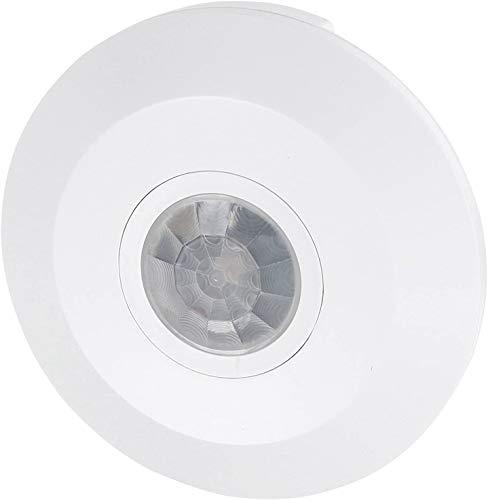 Rilevatore di movimento a infrarossi Slim da soffitto a 360°, adatto a LED, 1W-2000 W