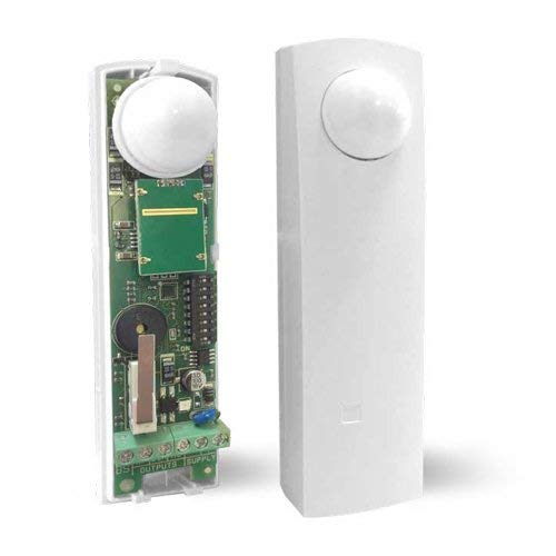 Sensore a doppia tecnologia, effetto tenda, per porte e finestre AMC DT 16