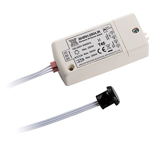 Sensore ad infrarossi interruttore-HoneyFly BHIRH-250WA 100-240V interruttore del sensore di movimento interruttore 5-10cm fuori dal movimento della mano del governo Max.70W per LED