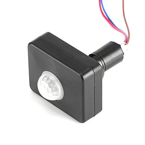 Sensore di Movimento, rilevatore di Movimento a infrarossi Sensori PIR Interruttore a Parete Impermeabile IP65 per Montaggio a soffitto per Esterni, da Incasso, a soffitto, a Parete.