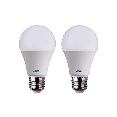 SET di 2 LAMPADINE DYA GOCCIA LED A60 CON SENSORE DI MOVIMENTO - E27-10W, 810 LUMEN (LUCE FREDDA 6000K)