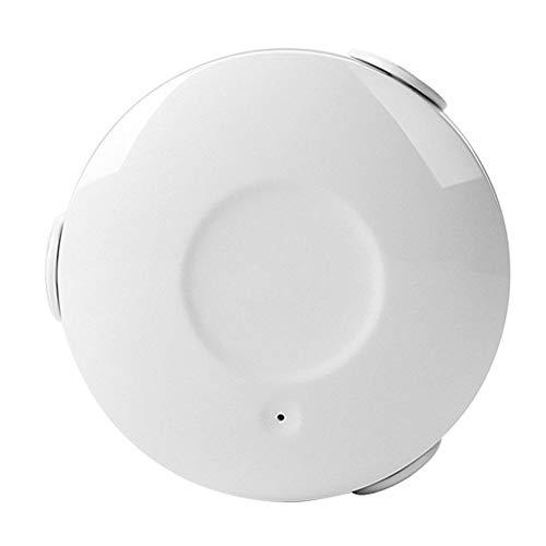 Smart WiFi Allarme perdite d'acqua, sensore di perdite d'acqua wireless Rilevatore di alluvioni Allarme allarme App Telecomando per Smart Home