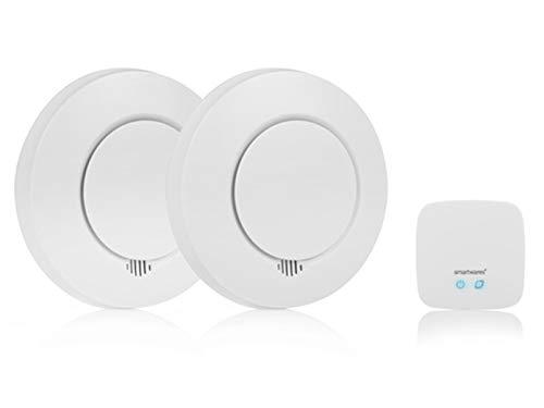 Smartwares Rilevatore di Fumo Smart SH8-99103, Compatibile con l'app Home Wizard
