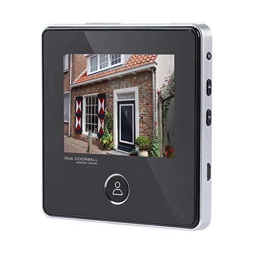 """Spioncino Digitale Elettronico, 3"""" HD 3MP LCD Smart Digital Door Peephole Viewer con angolo di 120 °,HD con a visione notturna telecamera di sicurezza Monitor per la casa,hotel, villa, appartamento"""