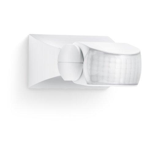 Steinel Sensore di movimento IS 1 - Per Interno ed esterno casa, con angolo rilevamento 120°, portata 10m, montaggio a superficie o ad incasso, IP54 - Bianco