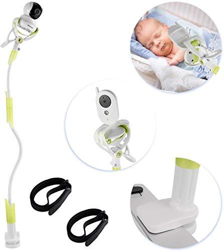 Sunix Supporto Universale per Baby Monitor, Supporto Universale Baby Monitor con Cinghie, Supporto per Monitor per Bambini e Supporto Flessibile per Fotocamera per la Maggior Parte dei Baby Monitor