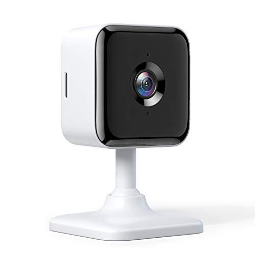 Telecamera di sicurezza domestica intelligente Wi-Fi da interni Teckin Cam 1080P FHD con visione notturna, audio a 2 canali, rilevamento del movimento, utilizzabile con Alexa e Google Home