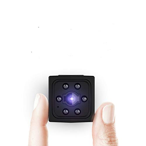 Telecamera Nascosta,Ltteny Microcamera 1080P HD Con Visione Notturna,Portatile Cam con Rilevamento di Movimento telecamera spia per Esterno/Interno