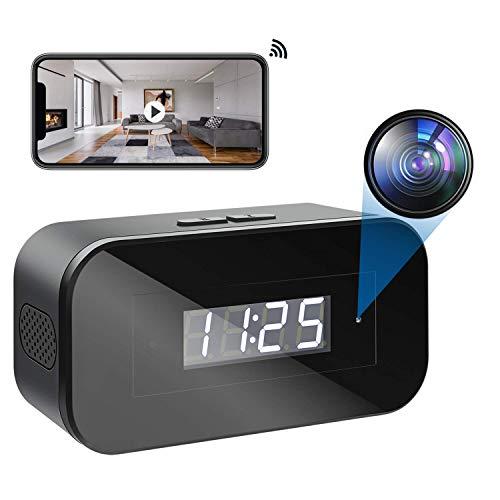 Telecamera Spia Nascosta WiFi, Microcamera Telecamera Nascosta Hd 1080p Portable Wireless Per la Sicurezza Domestica Con Visione Notturna Registrazione Video Rilevamento del Movimento di Sorveglianza