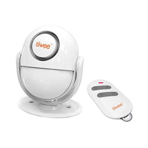 tiiwee A2 Rilevatore di Movimento e Allarme Sirena - Anti-Effrazione Sistema di Allarme con Telecomando - Sirena da 125 dB - Espandibile - Sicurezza Domestica