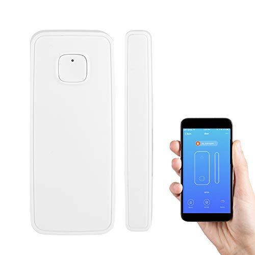 VBESTLIFE Allarme Porta Intelligente WiFi, Window Alarm Sensor Telecomando Wireless per Sicurezza Domestica
