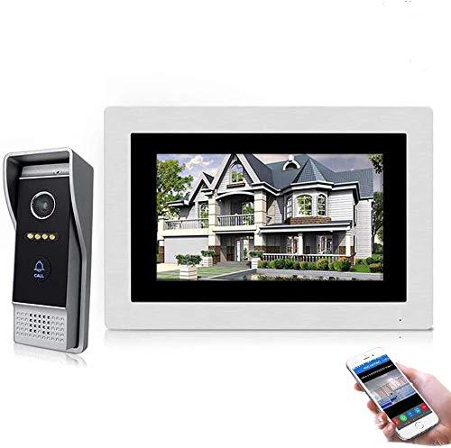 Videocitofono cablato da 7 pollici, IP WiFi, citofono di ingresso, visione notturna, supporto per sblocco remoto, registrazione, istantanea