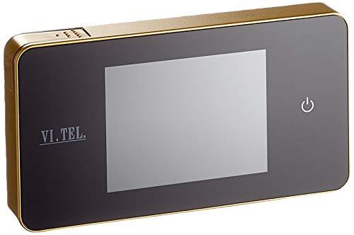 """VI.TEL. E0426 40 Spioncino Digitale 2.6"""", Oro"""