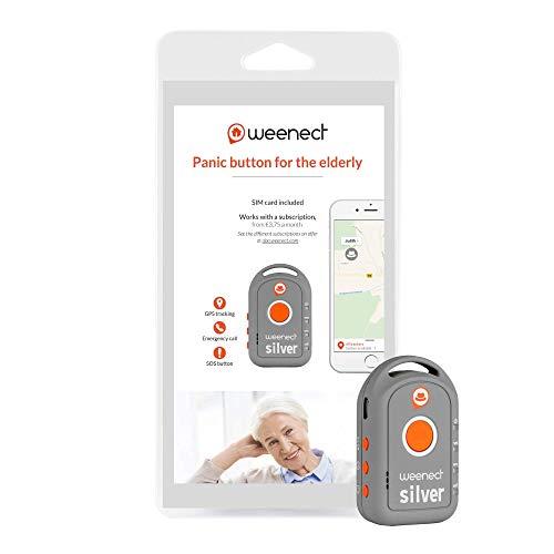 Weenect Silver - Localizzatore GPS per anziani