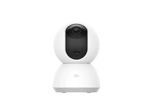 Xiaomi Mi Home MJSXJ02CM Videocamera di Sicurezza 360° 1080p, Connettività Wi-Fi, per Interno, Bianco