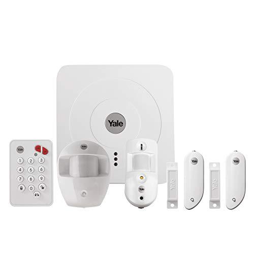 Yale 60-3200-EU0I-SR, Allarme per la casa gestito da Smartphone, 868MHz/2.4 GHz.